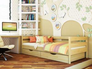 Деревянная кровать Нота