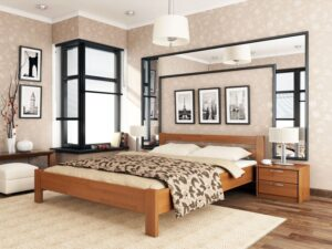 Деревянная кровать Рената 34 - Мир спальни