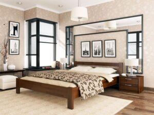 Деревянная кровать Рената 38 - Мир спальни