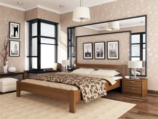 Деревянная кровать Рената 2 - Мир спальни