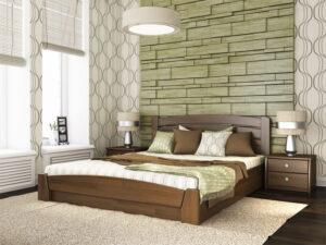 Деревянная кровать Селена-Аури
