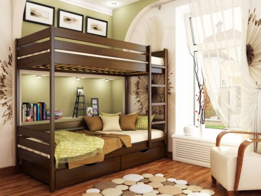 Двухярусная кровать Дуэт 1 - Мир спальни