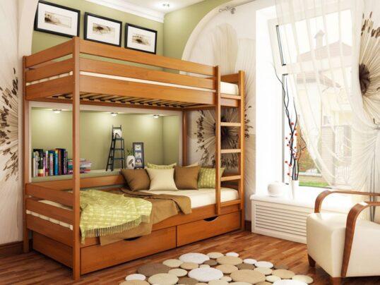 Двухярусная кровать Дуэт 5 - Мир спальни