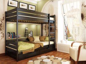 Двухярусная кровать Дуэт 21 - Мир спальни