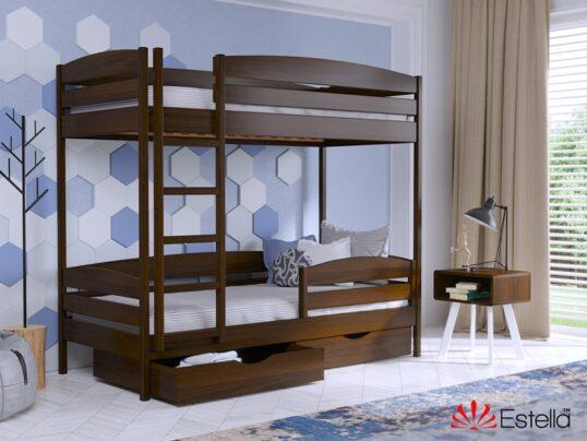 Двухярусная кровать Дуэт Плюс 1 - Мир спальни