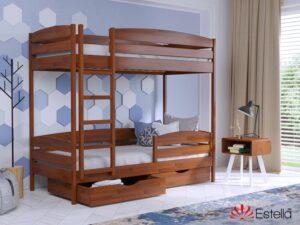 Двухярусная кровать Дуэт Плюс 38 - Мир спальни