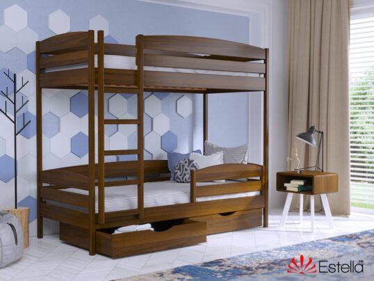 Двухярусная кровать Дуэт Плюс 3 - Мир спальни