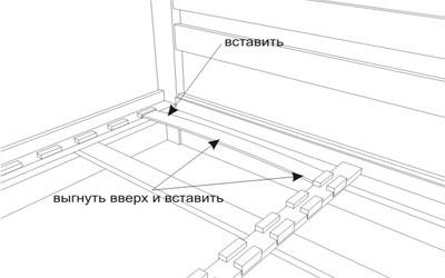 Деревянная кровать Селена