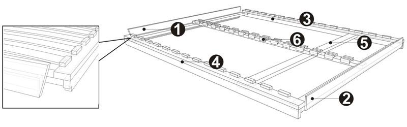 Инструкция по сборке кровати с подъёмным механизмом Селена-Аури