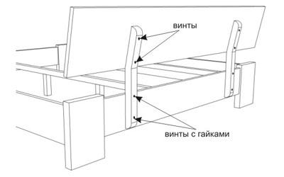 Инструкция по сборке кровати Титан 7 - Мир спальни